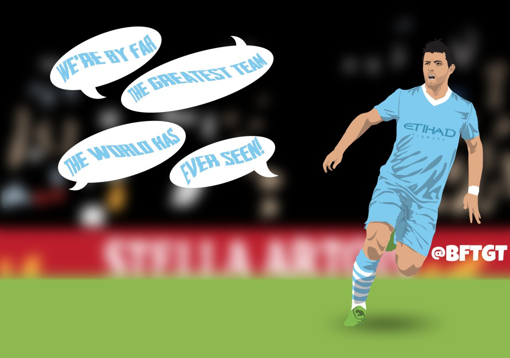The complete footballing history of Manchester City star Sergio Aguero