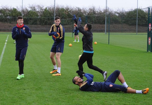Arsenal Walcott Ozil