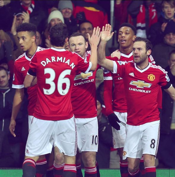 Manchester United Mata Darmian