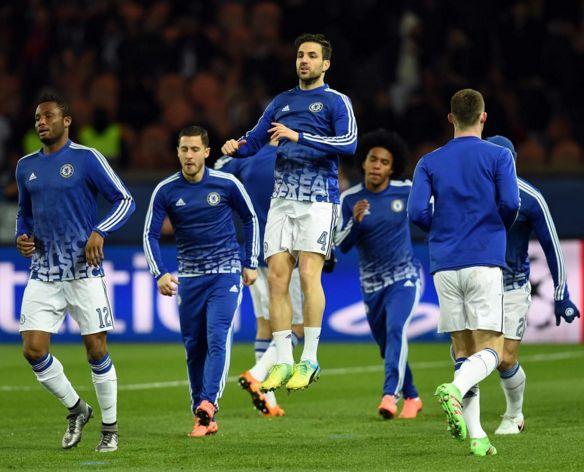 Chelsea Fabregas Hazard