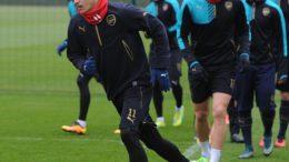 Mesut Ozil, Olivier Giroud