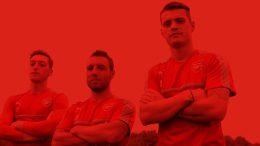 Santi Cazorla and Granit Xhaka recreate famous Henry and Stankovic goals