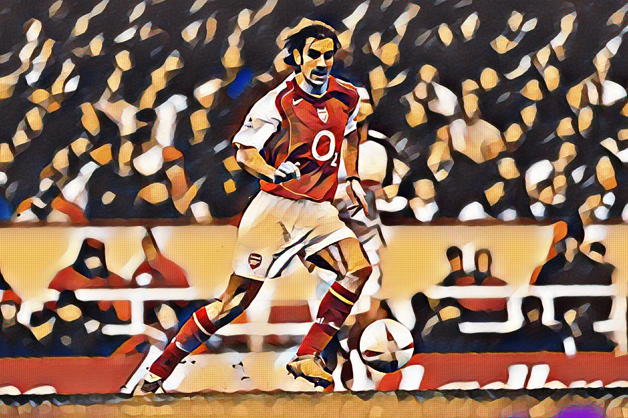 Robert Pires France and Arsenal