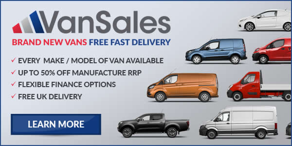 Van Sales Advert