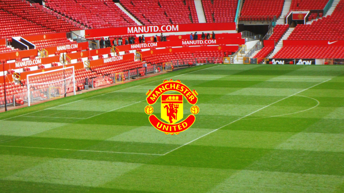 Manchester United FC Stadium and Logo